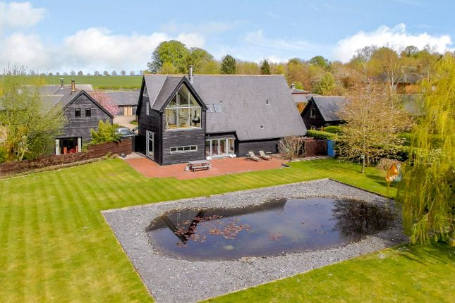 Thumbnail Detached house for sale in The Old Vineyard, Cold Harbour, Baldock, Hertfordshire