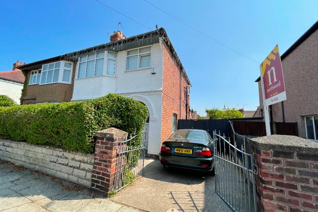 Thumbnail Semi-detached house for sale in Southcroft Road, Wallasey, Wirral