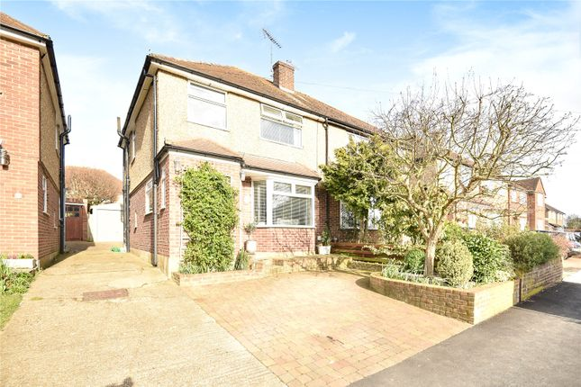 Semi-detached house for sale in The Furrows, Harefield, Uxbridge, Middlesex