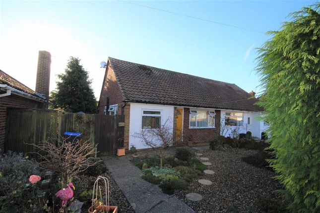Thumbnail Semi-detached bungalow for sale in Hurley Road, Worthing, West Sussex
