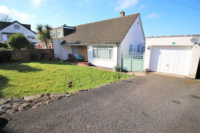 Thumbnail Semi-detached bungalow for sale in Moor View, Marldon, Paignton