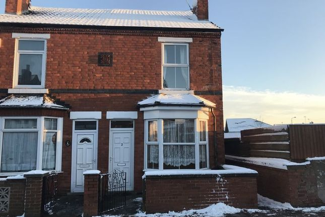 Thumbnail Semi-detached house to rent in Beresford Street, Mansfield