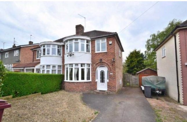 Thumbnail Semi-detached house to rent in Windermere Road, Reading