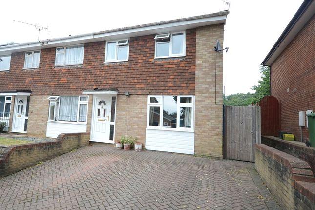 Thumbnail End terrace house for sale in Allendale Close, Little Sandhurst, Berkshire