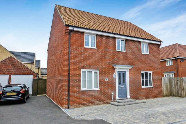 Thumbnail Detached house for sale in Purslane Drive, Caister-On-Sea, Great Yarmouth