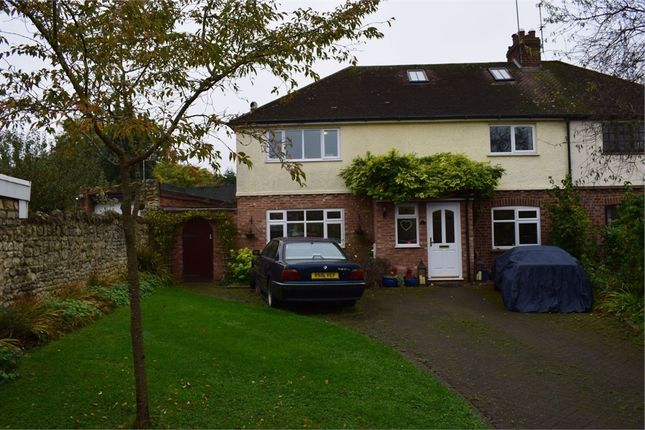 Thumbnail Semi-detached house to rent in High Street, Great Linford, Milton Keynes, Buckinghamshire