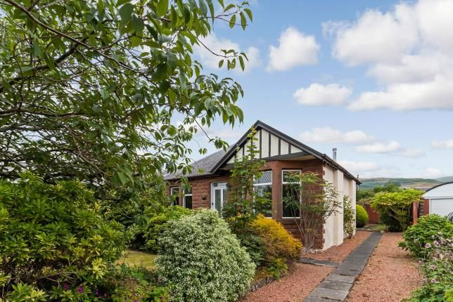 Thumbnail Bungalow for sale in Brisbane Road, Largs, North Ayrshire