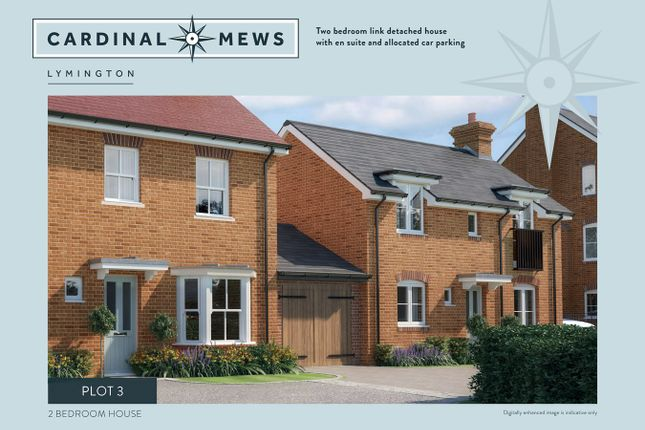 Thumbnail Property for sale in Cardinal Mews, Lymington