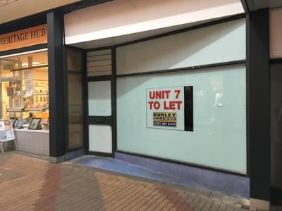 Thumbnail Retail premises to let in Unit 7, Middle Entry Shopping Centre, Tamworth