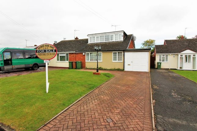 Thumbnail Semi-detached bungalow for sale in Edinburgh Drive, Willenhall