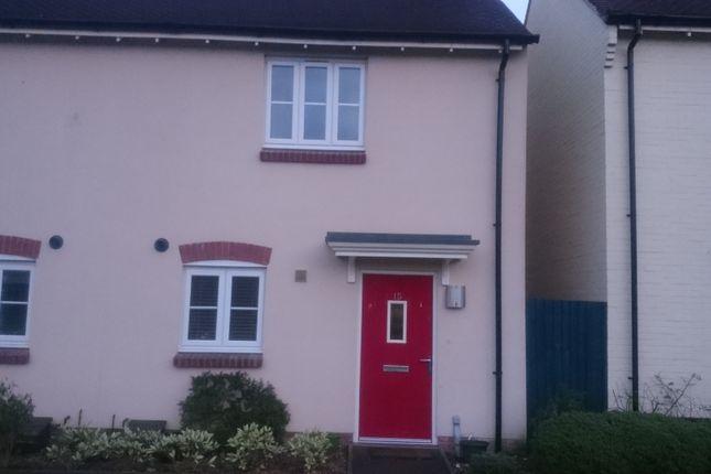 Thumbnail Semi-detached house for sale in Primrose Place, Durrington