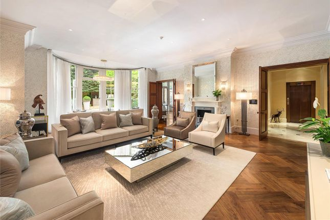 Drawing Room of Upper Phillimore Gardens, Kensington, London W8