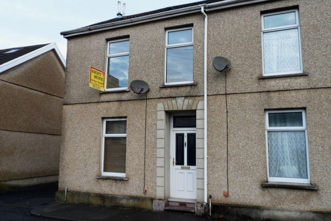 Thumbnail End terrace house to rent in Dolau Road, Llanelli