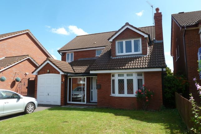 Thumbnail Detached house for sale in Quail Close, Gloucester