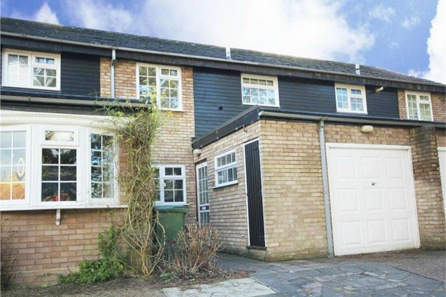 Thumbnail Terraced house for sale in Pine Tree Close, Christchurch Road, Hemel Hempstead, Hertfordshire