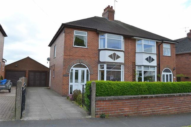 Thumbnail Semi-detached house for sale in Hawksworth Avenue, Leek