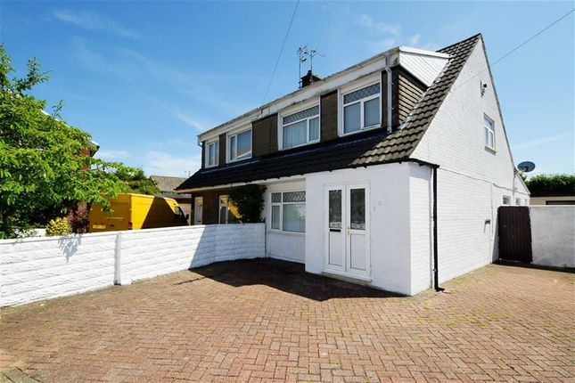 Thumbnail Semi-detached house for sale in Cardigan Close, Tonteg, Pontypridd