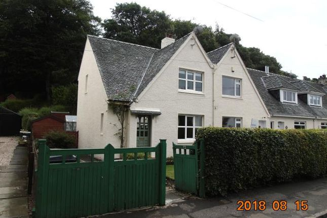 Thumbnail Semi-detached house to rent in Finlaystone Road, Kilmacolm