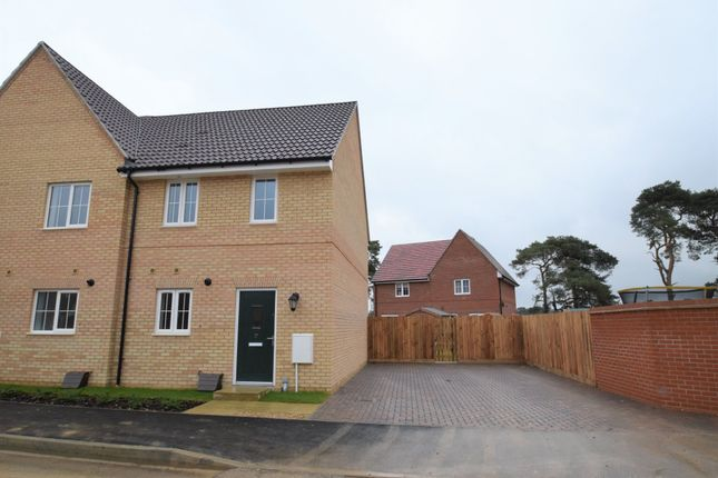 2 bed semi-detached house for sale in Dandelion Crescent, Red Lodge, Bury St. Edmunds