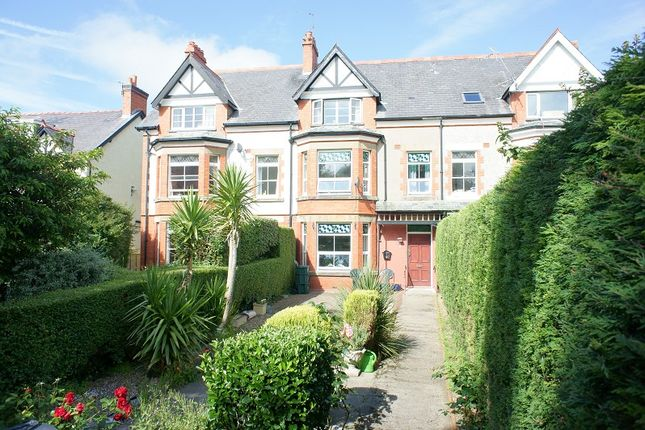 5 bed terraced house for sale in Park Crescent, Llanfairfechan, Conwy.