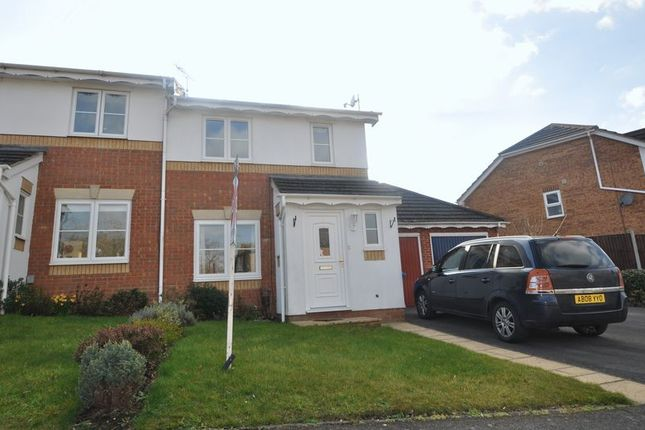 Thumbnail Semi-detached house to rent in Mareshall Avenue, Warfield, Bracknell