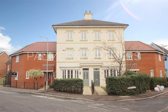 Thumbnail Town house for sale in Gavin Way, Myland, Colchester