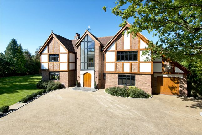 Thumbnail Detached house for sale in Church Road, Chelsfield Park, Orpington