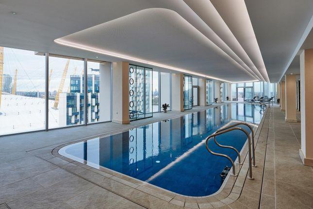 Swimming Pool of No.2, Upper Riverside, Greenwich Peninsula, Cutter Lane SE10