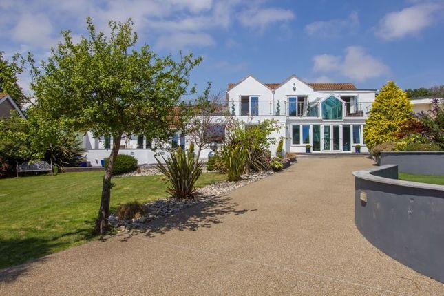 Detached house for sale in Beach Road, Swanbridge, Penarth