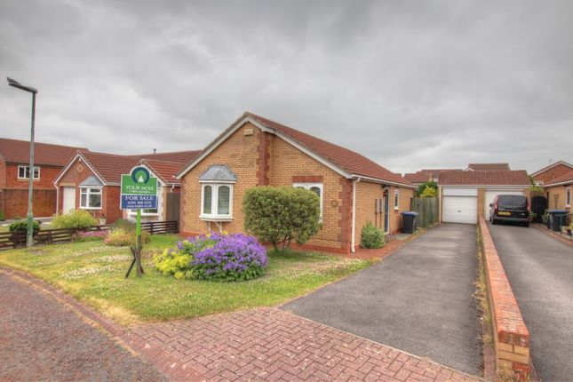 Thumbnail Bungalow for sale in Brandon Close, Chester Le Street