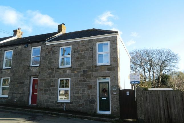 Thumbnail End terrace house for sale in Fore Street, Penponds, Camborne