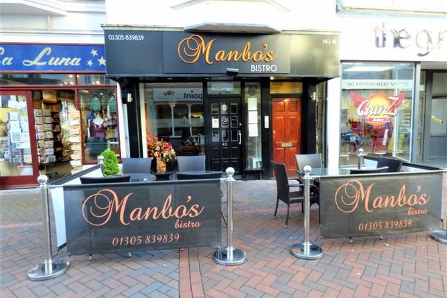 Commercial property for sale in St. Mary Street, Weymouth