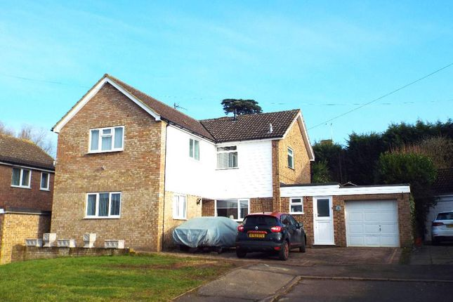 Thumbnail Detached house for sale in Prospect Close, Wollaston, Northamptonshire
