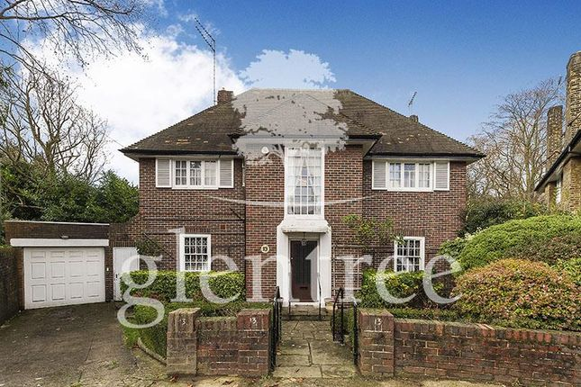 Thumbnail Detached house to rent in West Heath Close, Hampstead
