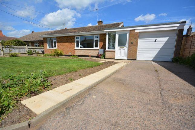 Thumbnail Detached bungalow for sale in Field Lane, Kessingland, Lowestoft