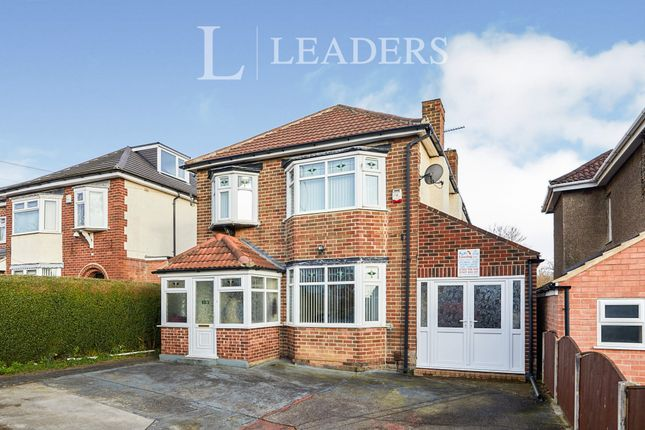 Thumbnail Detached house to rent in Stenson Road, Derby