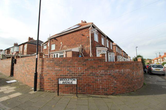 Thumbnail Semi-detached house for sale in Middleton Avenue, Fenham, Newcastle Upon Tyne