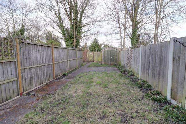 Garden of Herbert Road, Stafford ST17