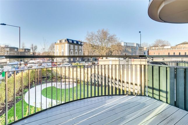 Balcony of St. Augustines Road, London NW1