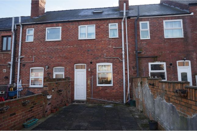 Rear View of Avenue Road, Wath-Upon-Dearne Rotherham S63