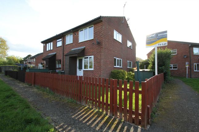 Thumbnail Town house to rent in Thorpe Field Drive, Thurmaston, Leicester
