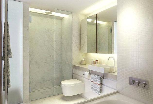 Bathroom of Tapestry Building, Kings Cross, London N1C