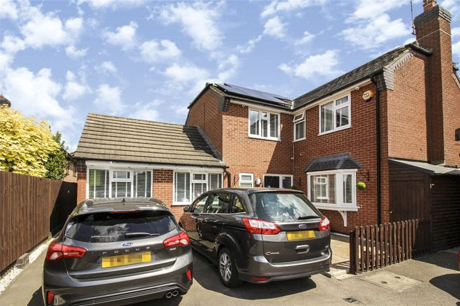 Front Elevation of Devitt Way, Broughton Astley, Leicester, Leicestershire LE9