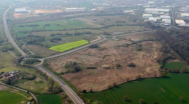 Thumbnail Land for sale in 2.6 Acre Development, Basford East, Crewe, Cheshire