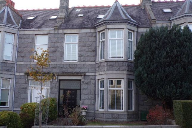Thumbnail Terraced house to rent in Blenheim Place, Aberdeen
