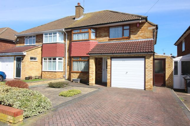 3 bed semi-detached house for sale in Ravenbank Road, Luton