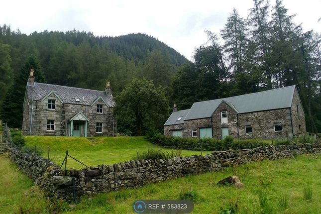 Thumbnail Detached house to rent in Inverinain Farmhouse & Outbuilding, Glen Lyon, By Aberfeldy