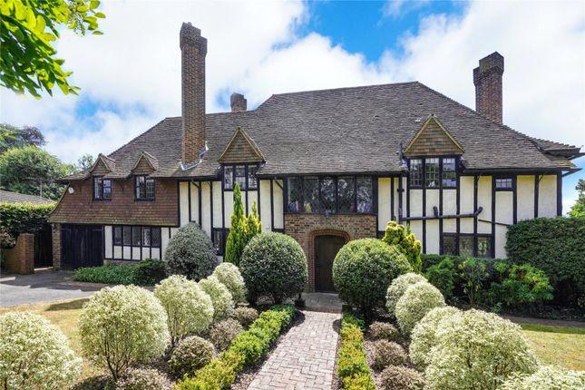 Thumbnail Detached house for sale in Hazel Road, West Byfleet, Surrey