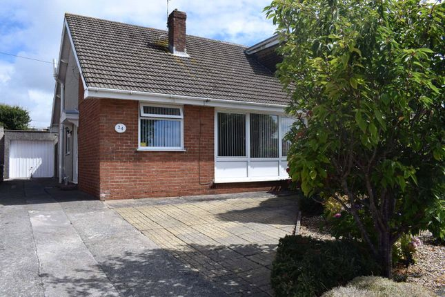 Thumbnail Semi-detached bungalow for sale in West Park Drive, Nottage, Porthcawl