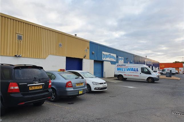 Thumbnail Retail premises to let in Units 1 & 7, Cappielow Industrial Estate, Mackenzie Street, Greenock